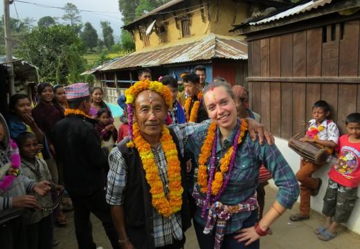 Cultural exchange volunteer