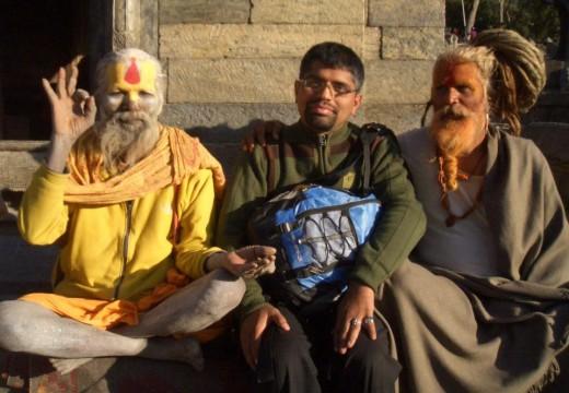 Real Sadhu or Photo Models?