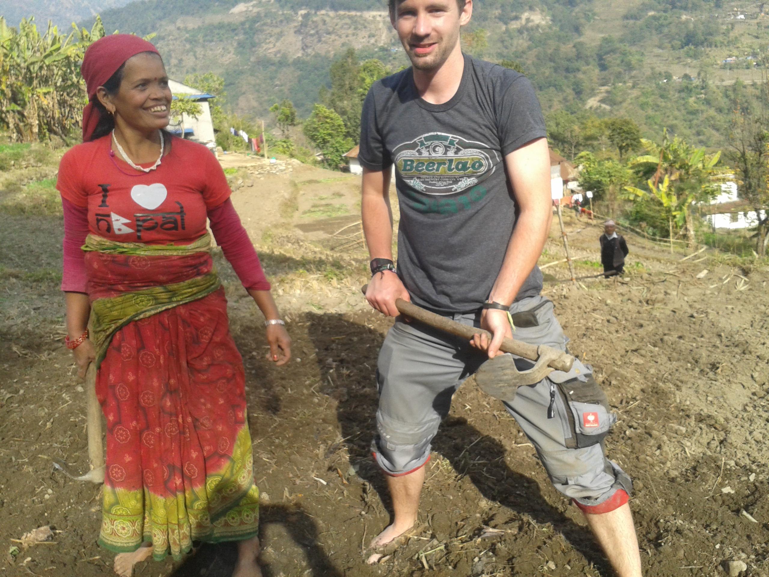 volunteering in nepal agriculture