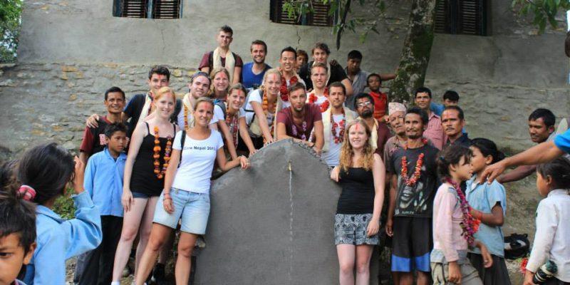 Volunteer building project in Nepal