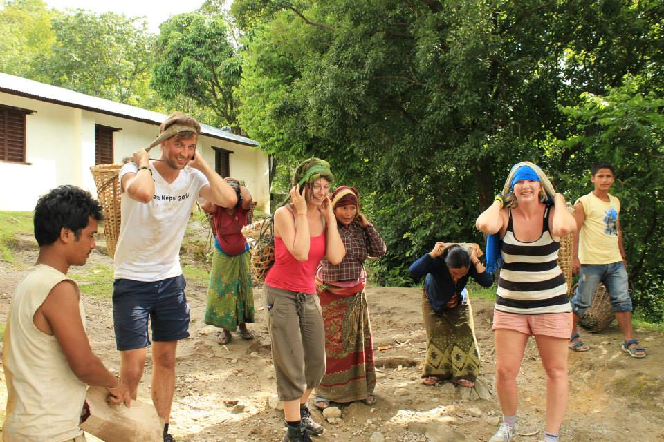 after earthquake reconstruction nepal
