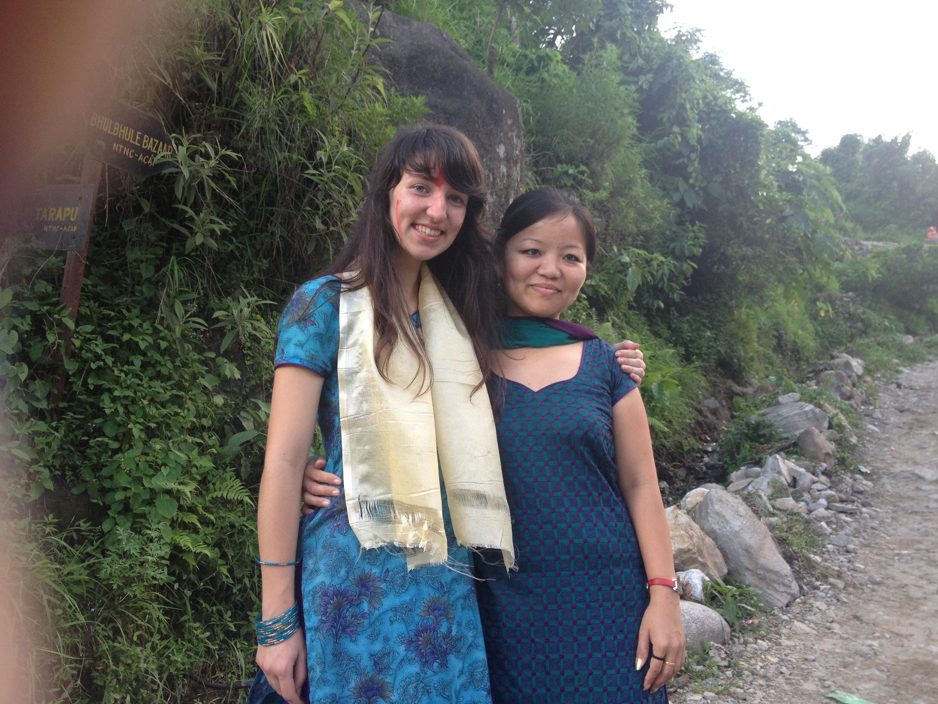 Teaching volunteer Nepal