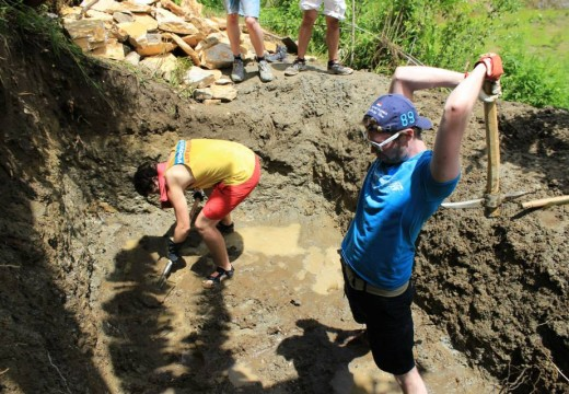 After Earthquake disaster construction volunteering in Nepal